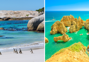 X-mas in Algarve & New Year in Cape Town! 2 in 1 from London for only £375!