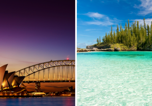 2 in 1: German cities to Australia & exotic New Caledonia in one trip from €820!