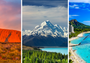 3 in 1: German cities to Australia, Hawaii and New Zealand in one trip from €779!