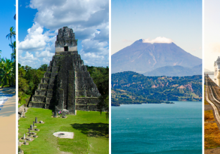 Discover Central America! Germany to Costa Rica, Guatemala, El Salvador and Panama in one trip for only €669!
