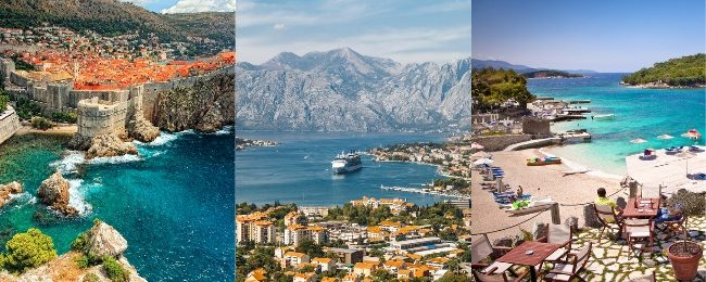 August & September! Bosnia, Croatia, Montenegro, Albania, North Macedonia, Kosovo and Serbia from Vienna for €119!
