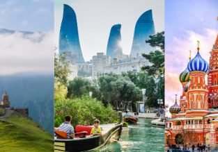 Amazing trip! Georgia, Azerbaijan and Russia from London from £99!