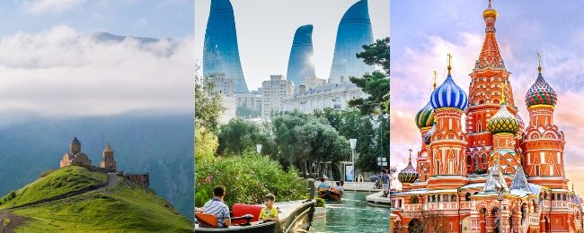 Amazing trip! Georgia, Azerbaijan and Russia from London from £79!