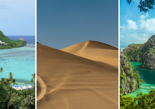 3 in 1 with 5* Qatar Airways: UK cities to Guam, the Philippines and Qatar in one trip from only £600!