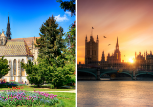 Cheap flights from Kosice to London for €17 or vice-versa for £14!