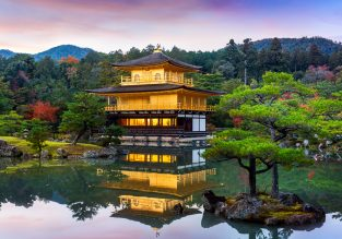 Cheap flights from Paris to many cities in Japan or South Korea from only €392!