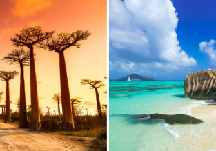 EXOTIC! Cheap flights from Eastern European cities to Madagascar or Seychelles from only €464!