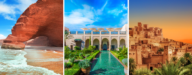 Morocco roadtrip! Flights from Amsterdam to Agadir & 7-day car hire for only €57!