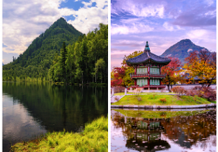 4 in 1: Moscow, St. Petersburg, Lake Baikal (all Russia) & Seoul, South Korea in one trip from Hungary for €418!