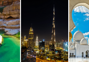 3 in 1: Irish cities to Oman, Dubai and Abu Dhabi in one trip from €299!