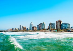 Cheap flights from Sydney to Durban, South Africa for only AU$863!