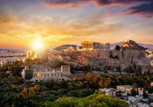 Cheap flights from New York to Athens for only $393!