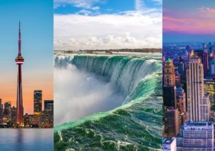 Cheap! Toronto, Niagara Falls and New York in one trip from Ireland from only €233!
