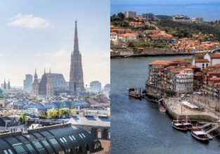 Cheap flights from Vienna, Austria to Porto, Portugal and vice-versa from only €19!