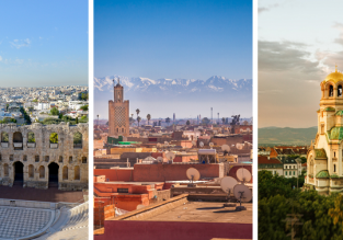 Morocco, Greece and Bulgaria in one trip from Berlin for just €62!
