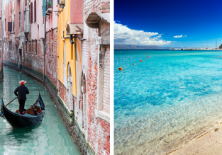 Sardinia and Venice in one trip from Prague for only €55!