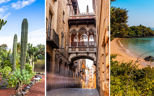 Madrid, Barcelona, Tenerife, Fuerteventura and Gambia in one big trip from Berlin just €282!