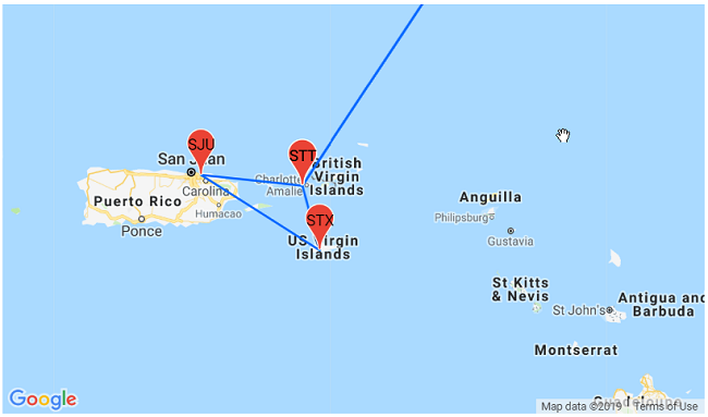Caribbean 3 in 1! High season trip to Puerto Rico and two US ...