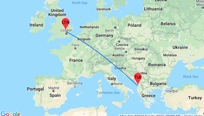 Cheap non-stop flights from London to Albania from only £22!
