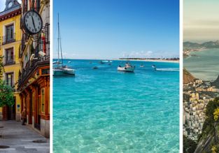 Spain, Cape Verde and Brazil in one trip from Paris for just €482!