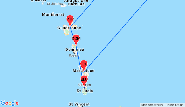 Caribbean Island Hopper from Paris for €355! Visit ... on venezuela map google, caribbean map with country names, caribbean mexico and central america map, nauru map google, belarus map google, caribbean city names, costa rica map google, guyana map google, caribbean and bahama island map, united states america map google, uzbekistan map google, caribbean map google earth, georgia map google, bermuda map google, vatican city map google, central america map google, anguilla map google, monaco map google, hungary map google, congo map google,