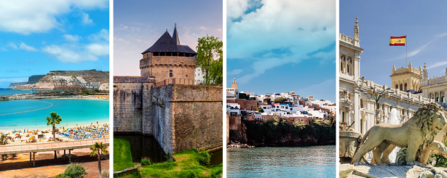 4 in 1: Gran Canaria, Madrid, Nantes and Morocco in one trip from London just £77!