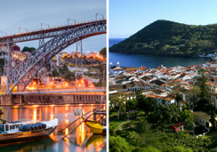 Explore Portugal! Porto and Terceira Island in one trip from Copenhagen just €110!