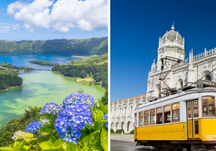 Explore Portugal! Lisbon and Azores in one trip from London just £54!