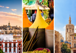 Morocco and Spain in one trip from Copenhagen for just €58!