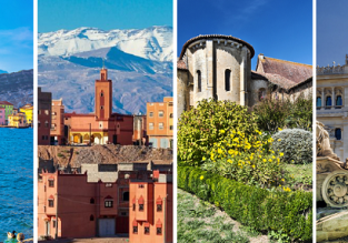 Italy, France, Spain and Morocco in one trip from Bratislava for just €69!