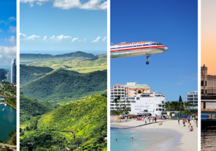 Panama, Florida, St Maarten and Puerto Rico in one trip from Frankfurt just €578!