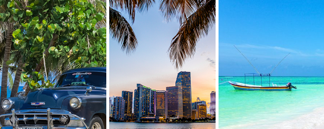 Cuba, Mexico and Florida in one trip from UK just £441!
