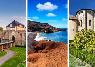 Nantes, Lanzarote and Bordeaux in one trip from Basel just €63!