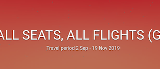 Air Asia Sale! 20% off on all flights!