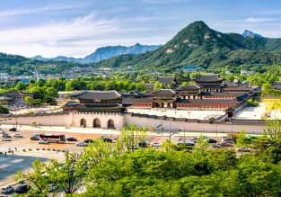 Cheap non-stop flights from Budapest to Seoul, South Korea for only €169 one-way!