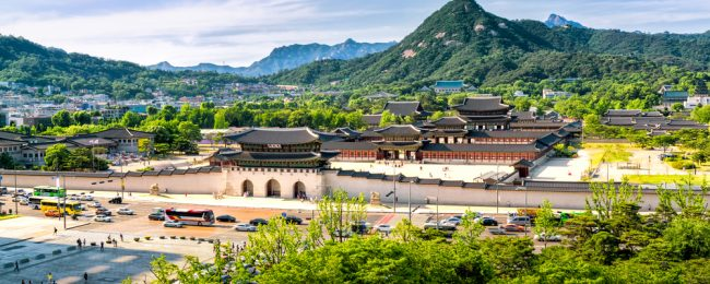 Cheap flights from the Baltics to Seoul, South Korea from only €371!
