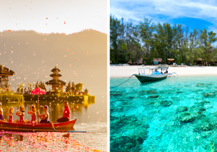 Summer, X-mas & New Year! 5* Garuda Indonesia flights between Lombok and Bali from only $18 one-way or $39 return!