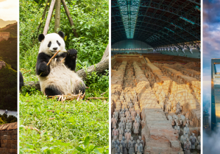 Across China with 5* airline! Prague to Beijing, Chengdu (giant pandas), Xi'an (Terracotta Army) and Shanghai in one trip for only €570!
