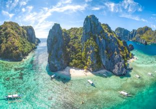 CHEAP! Peak Season non-stop flights from Hong Kong to Palawan, Philippines from only $64!