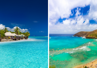 2 in 1: East Coast Australian cities to both Hawaii and Fiji for only AU$644!