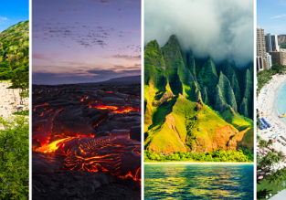 Europe to California + Hawaii Island Hopper! San Francisco, Lihue, Hilo, Kona, Kahului and Honolulu in one trip from only €561!