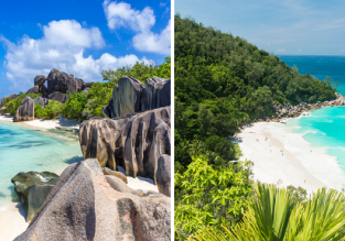 3 in 1! Seychelles Island Hopper: Manchester to Mahe, Praslin and La Digue in one trip for £504!