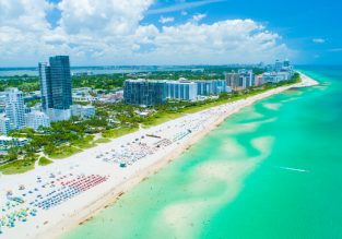 Cheap flights from Brussels to Miami for only €278!
