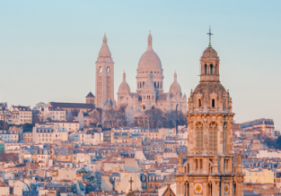 Cheap non-stop flights from New York to Madrid, Paris or Rome from only $225!