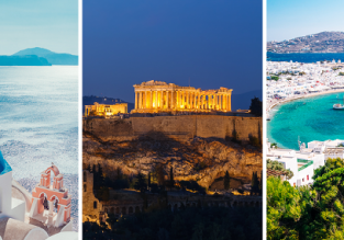 Summer Greek Islands Hopper! 8 islands + Athens and Sofia in one trip from Vienna returning to Bratislava for €219!