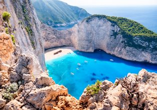 PEAK SUMMER! B&B stay at very well-rated 4* hotel in Zakynthos for only €50/night! (€25/£23 pp)