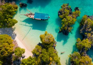 Exotic getaway! 8-night B&B stay in beach lodge in Zanzibar + flights from Oslo for €461!