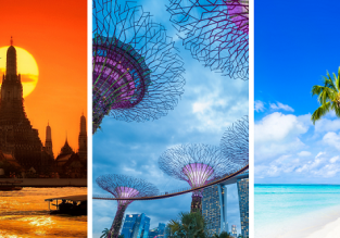 3 in 1 from Germany: Thailand, Singapore and Maldives for €427!