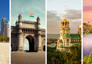 Sofia, Dubai, Mumbai and Goa in one trip from London just £220!