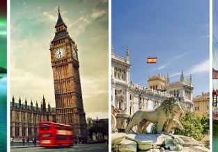 Iceland, UK, Spain and Portugal in one trip from Boston just $367!